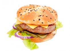 BBQ бургер