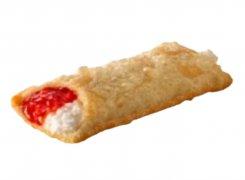 Пирожок клубника-сливочный сыр